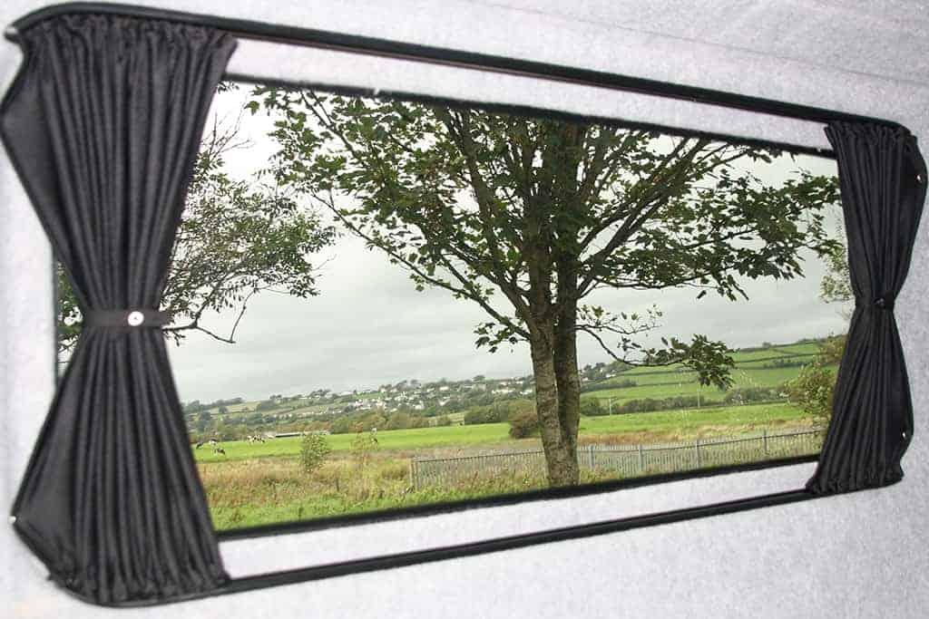 vw t5 t6 campervan blackout curtain set lwb nearside rear quarter passenger side clearcut conversions