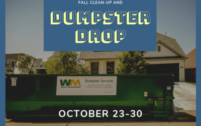 Fall Clean-up and Dumpster Drop