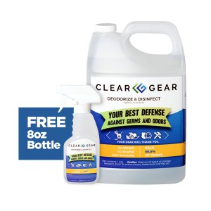 Clear Gear One Gallon Bottle with Free 8oz Bottle