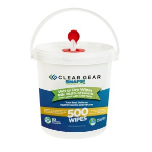 Clear Gear Wipes 500