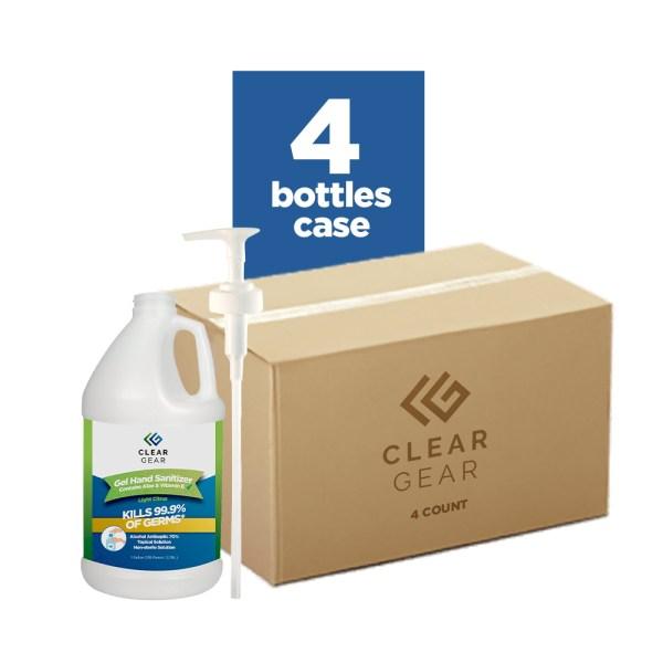 Hand Sanitizer Gallon Case With Pumps