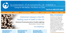 Alzheimer's Foundation of America home page