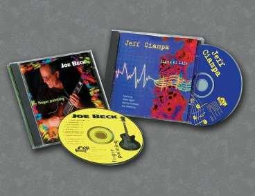 Jeff Ciampa-Joe Beck CDs