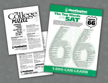 Huntington Learning Center SAT Prep and College Promotion