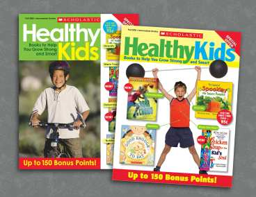 Scholastic Healthy Kids Magazine Covers