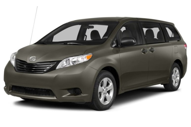 Cost of clearing Toyota Sienna