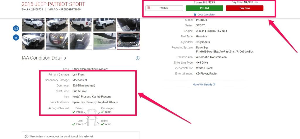 Buy used Cars Online