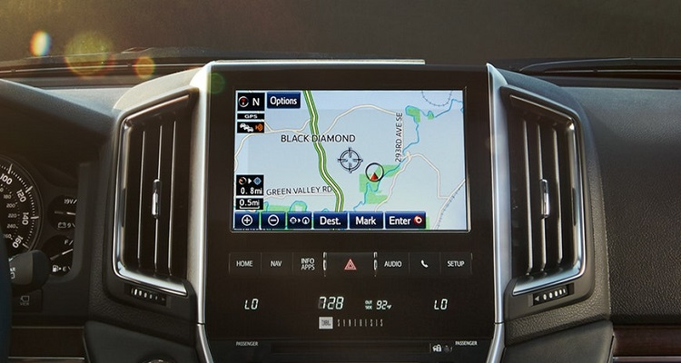 2019 Toyota Land Cruiser Prado navigation