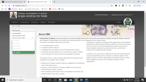 Form NXP Nigeria