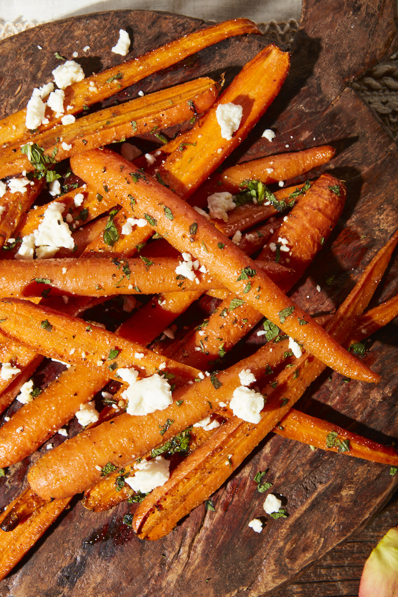 roast carrot tapas