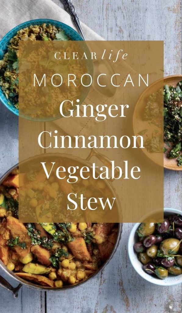 Vegetable stew over a flavourful couscous recipe!