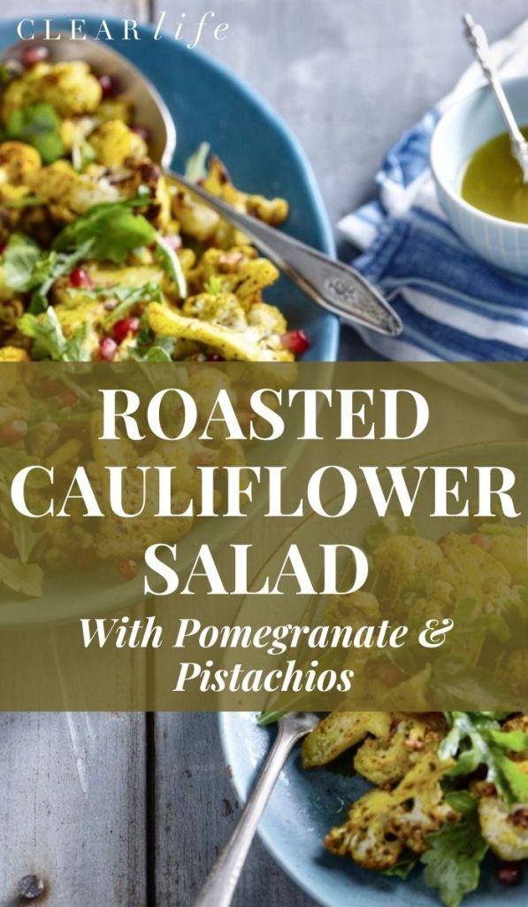 Cauliflower salad for dinner
