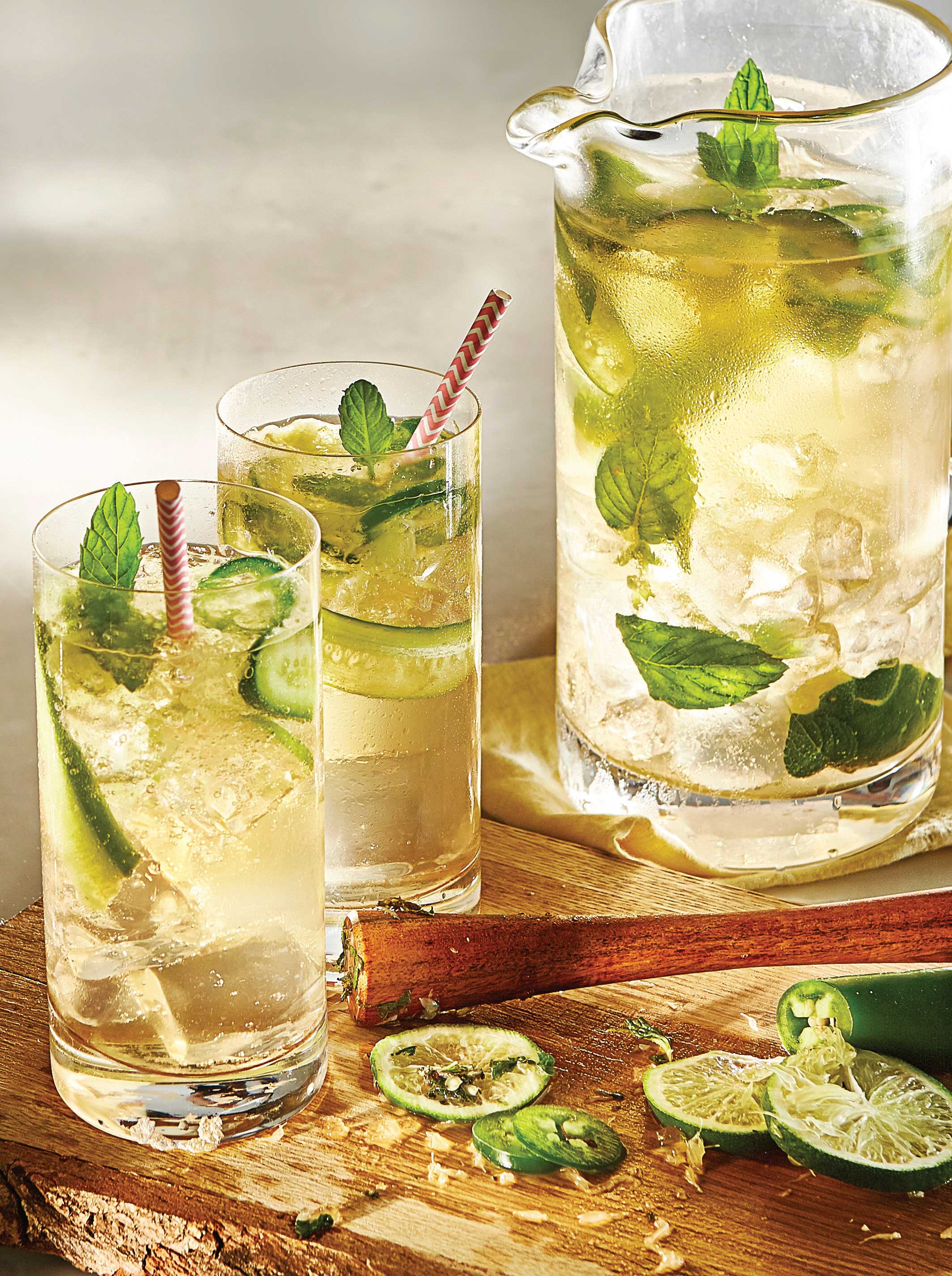 Jalapeno Vodka Ginger Cucumber Kicker! - CLEARlife
