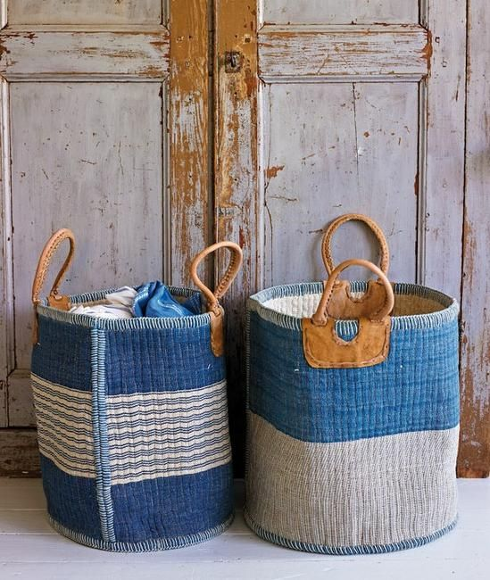 laundry bags for an eco-friendly bathroom
