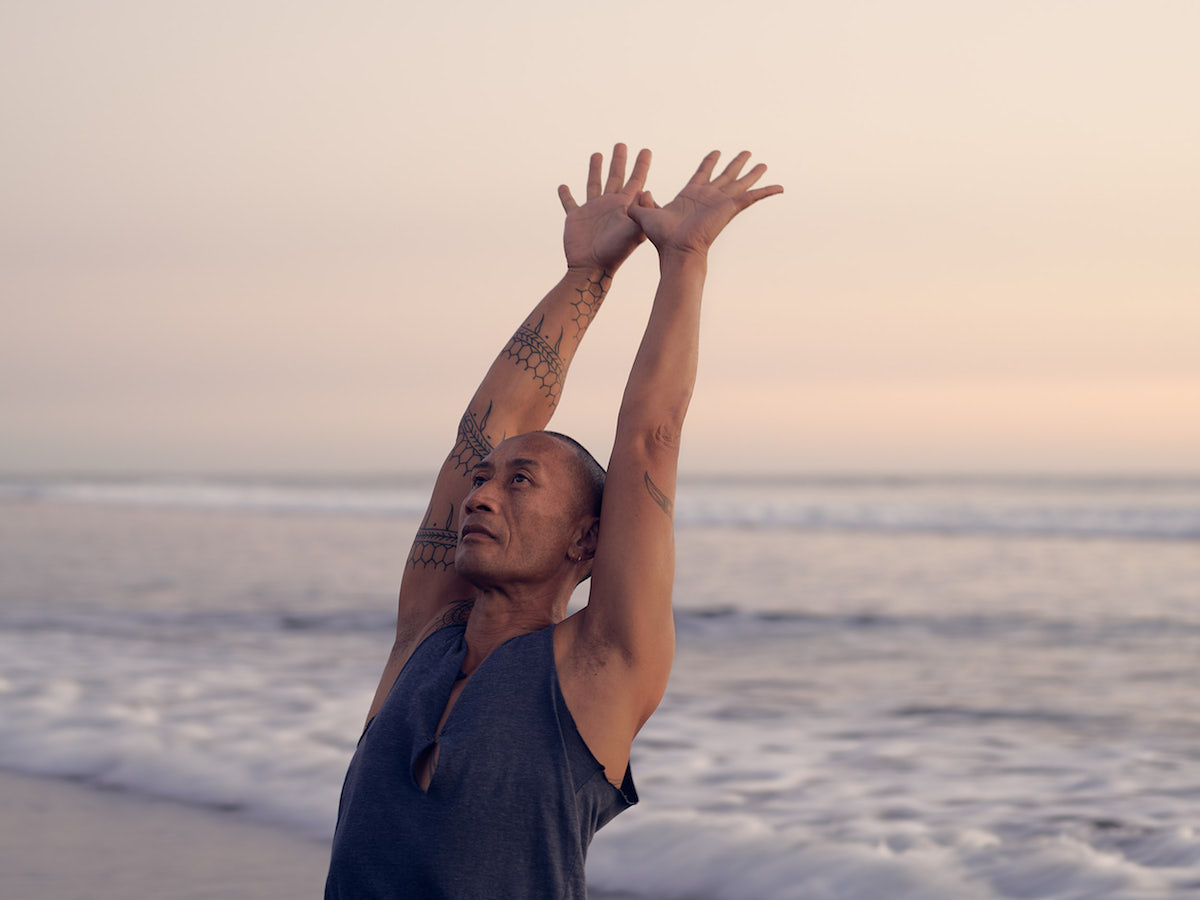 virtual yoga with Taane