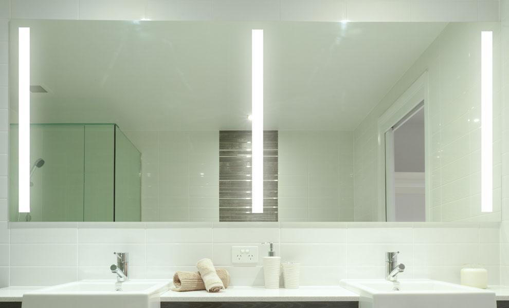 Bathroom Lighting Side Of Mirror With Wonderful Example In