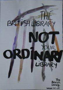 A poster for the British Library, done during my Illustration summer short course at Central Saint Martin's. The lines are based on a sketch of the Library's unending shelves.