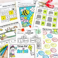 Spring Print and Go Activities