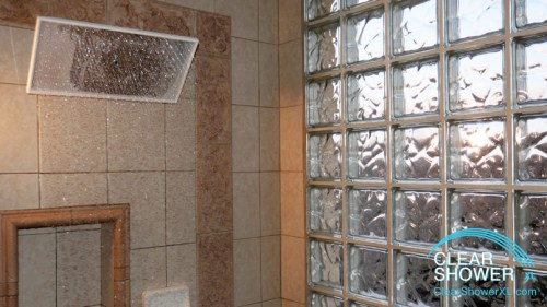 Big waterfall Mirror Showerhead
