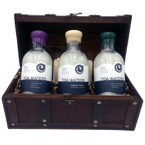 Vintage Spa Bubble Bath Gift Set