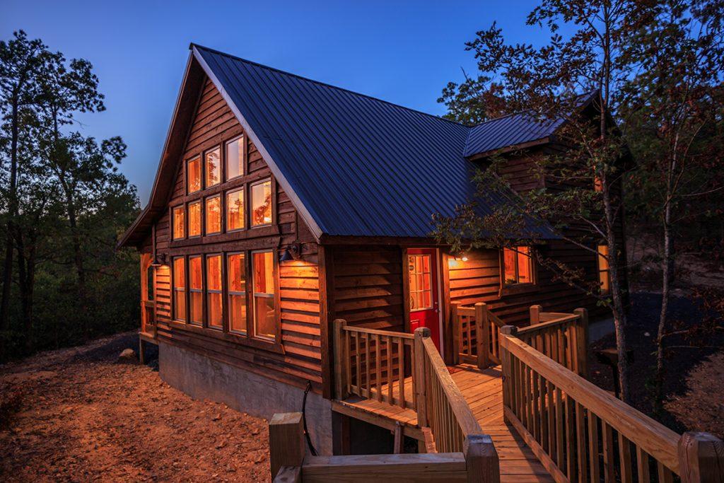 The Hideaway Cabin  Clear Sky Ridge