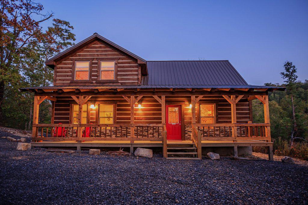 Mena Arkansas Cabins  Clear Sky Ridge  Cabins in Arkansas