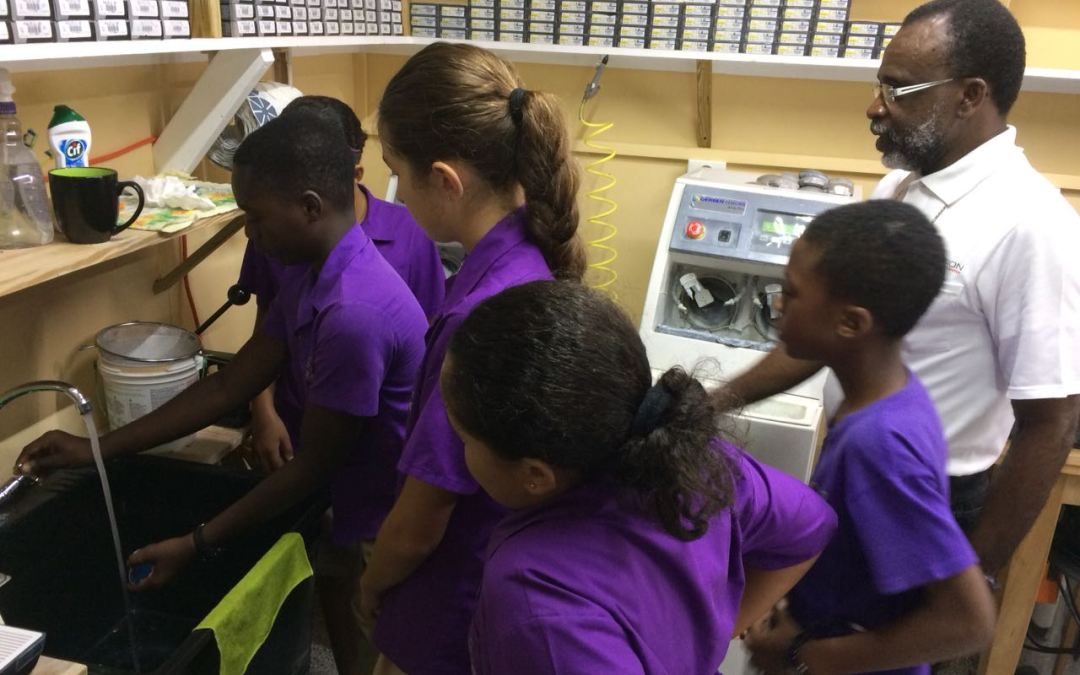 CLEARVISION EYE CENTER EXPOSES STUDENTS TO OPTOMETRY