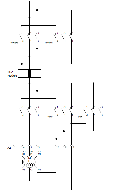 star delta control panel wiring diagram for 220 outlet how do i get anti ragging on an existing starter deragger ii connection