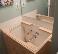 Replacing Bathroom Countertop And Sink. install a bathroom ...