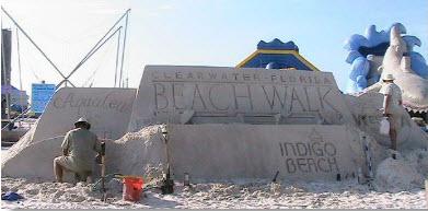 Clearwater Beach Beachwalk kickoff at Pier 60
