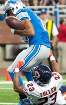 USP NFL: CHICAGO BEARS AT DETROIT LIONS S FBN USA MI