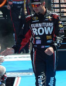 Martin_Truex_Jr._at_the_Daytona_500