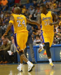 NBA: Preseason-Toronto Raptors at Los Angeles Lakers