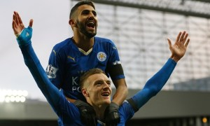Mahrez and Vardy have been in stunning form all season.