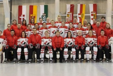 Gosling helps Team Canada win gold at Nations Cup.
