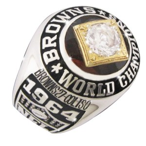 1964 Cleveland Browns NFL Championship Ring-500x500