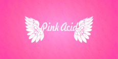 new pink acid banner and logo new 2013 pink
