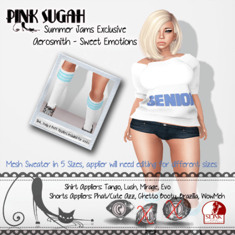 .__Pink Sugah__.Summer Jams poster