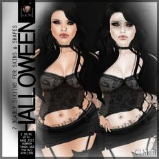 HalloweenGirl-V1&V2-Poster