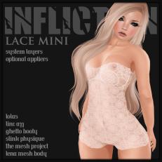 [ Infliction ] Lace Mini - Lubbly Jubblies