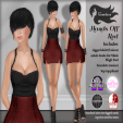 Tameless Clothing Package Hands Off - Red