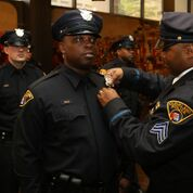 PO at 137th Graduation