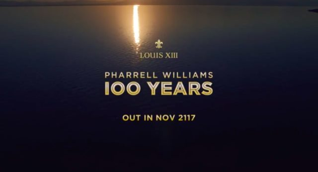 Pharrell williams 100 years clef Antwerp