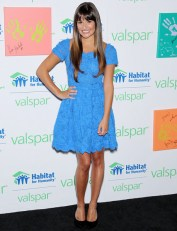 Lea Michele Lends a Hand for Valspar Hands for Habitat, Celebrity Charity Auction Benefiting Habitat for Humanity