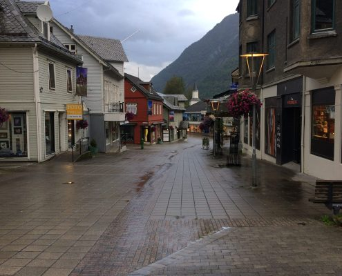 pluie Trolltunga Norvège Van Odda