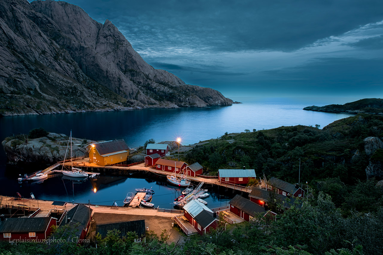 Nusfjord Norvège roadtrip van