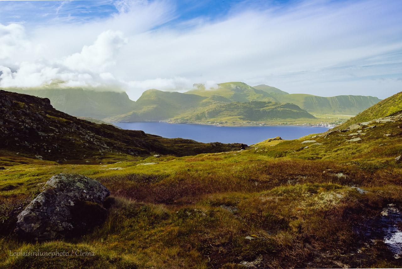 Volandstinden Norvège roadtrip van