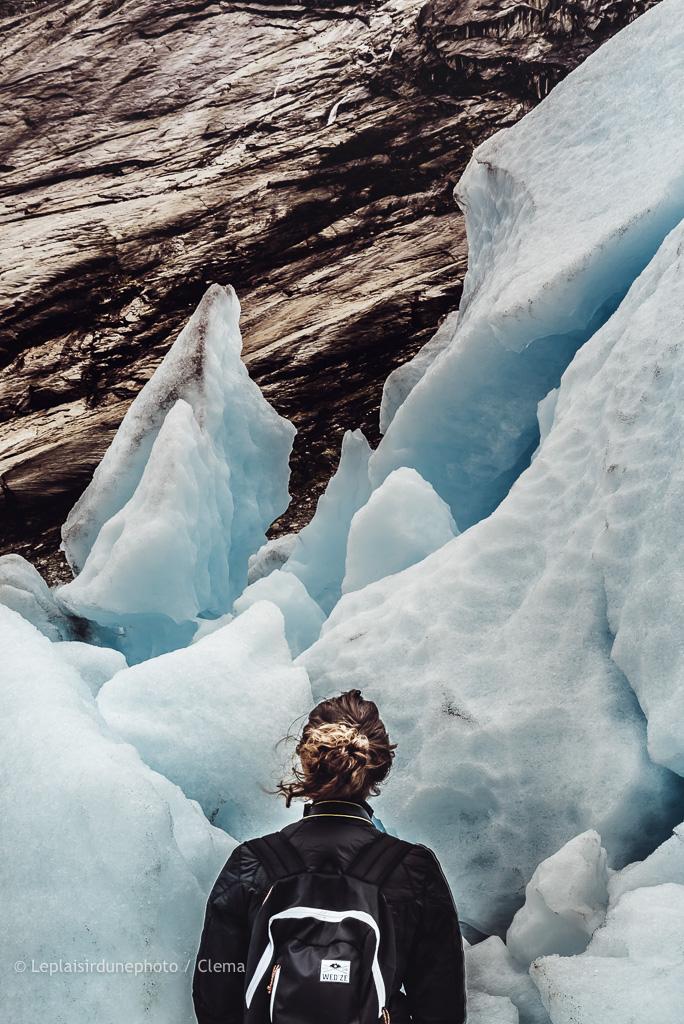 Nigardsbreen Norvège VAN glacier