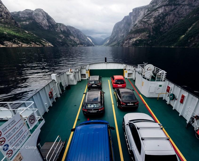 Norvège Lysefjord Van Voyage Randonnée J9