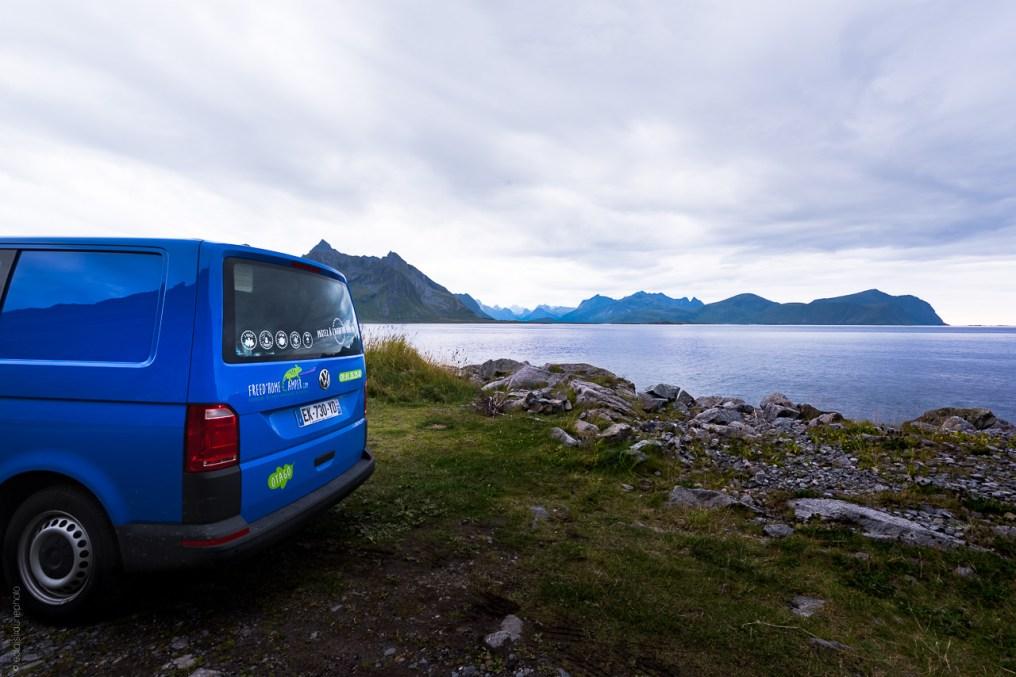 Nusfjord Van Norvège Feu